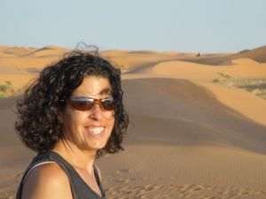 5:15 in Merzouga. You'd smile, too, making a 16-hour drive in only 7 hours!